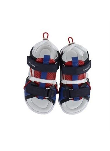 Kids A More Marvin Çift Cırtlı Deri Erkek Çocuk Sandalet  Lacivert